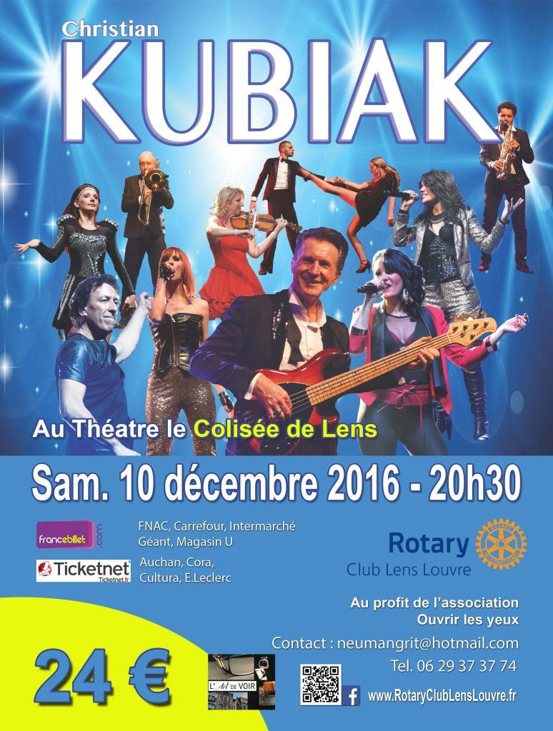 Affiche de présentation du bal kubiak
