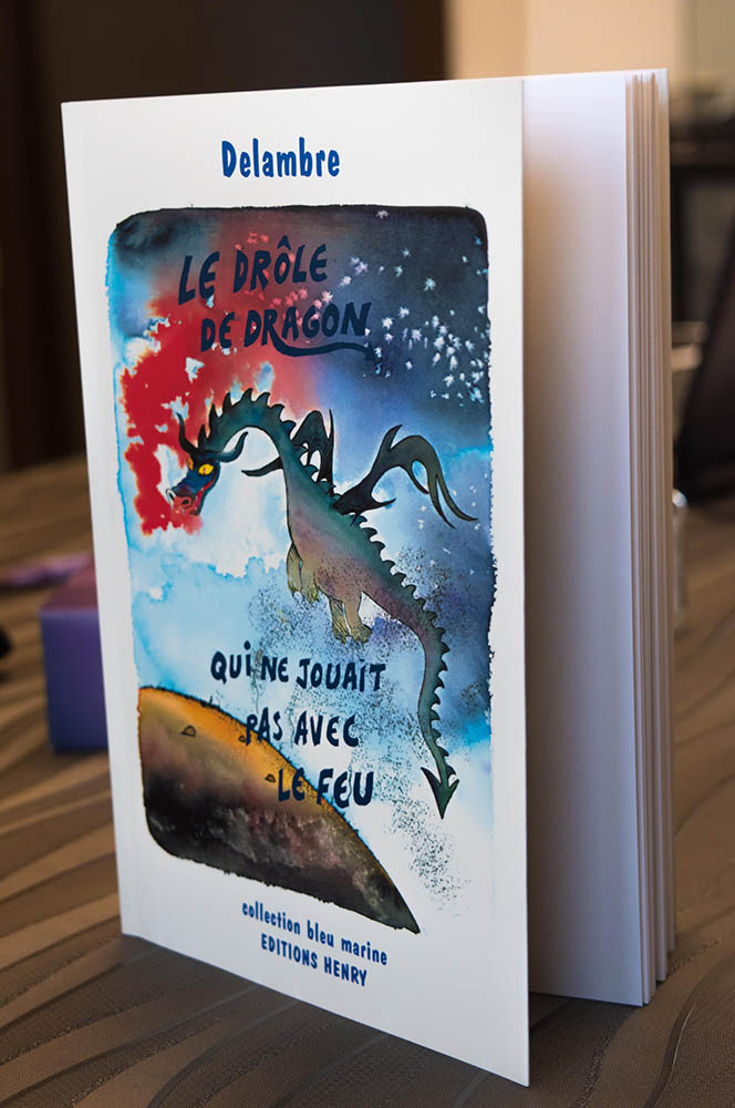 Image de la couverture du livre le drôle de dragon