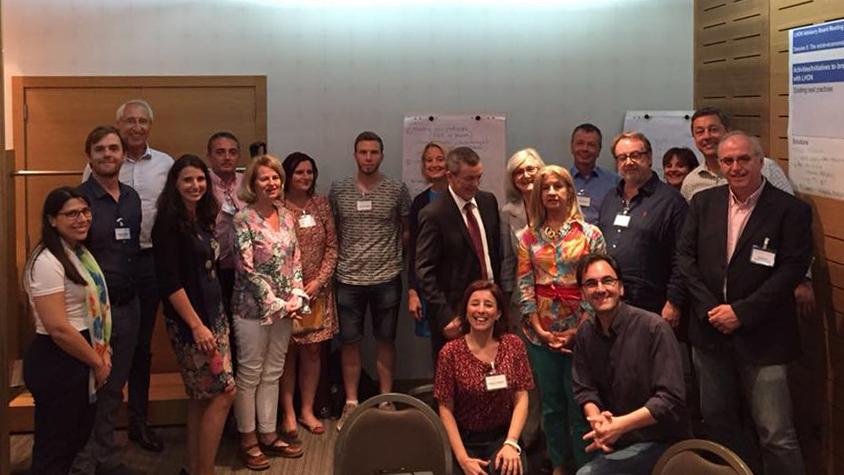 Photo de groupe réunion européenne 2018