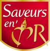 logo saveurs en or