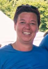 Photo de Caroline pendant la Course des Héros.