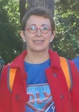 Photo de Evelyne pendant la Course des Héros.