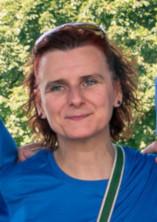 Photo de Maryse pendant la Course des Héros.