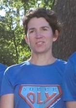 Photo de Maud pendant la Course des Héros.