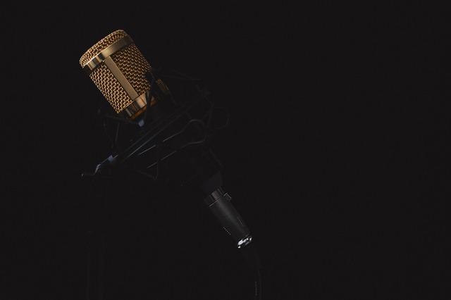 Image d'un micro de radio.