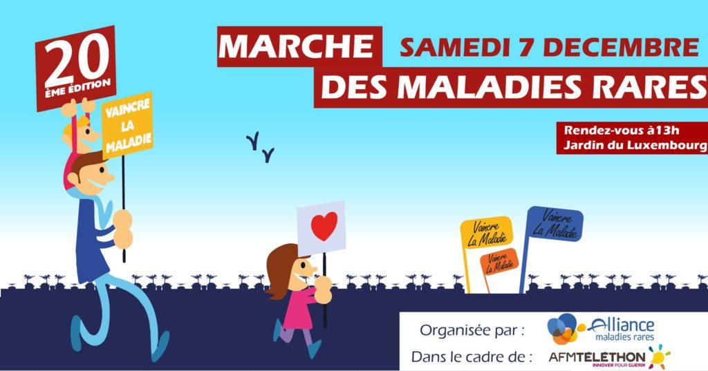 Visuel de la Marche des maladies rares 2019